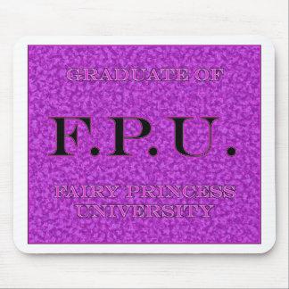 Absolvent feenhafter Prinzessin University Graphic Mauspads