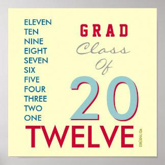 ABSOLVENT Klasse von Plakat 2012