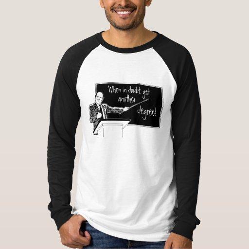 Absolvent-Schule Shirt
