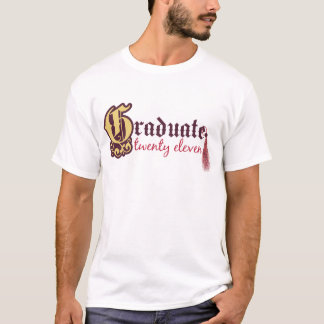 Absolvent zwanzig elf T-Shirt