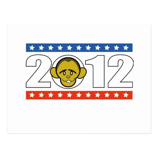 Abstimmung Barack Obama Postkarte