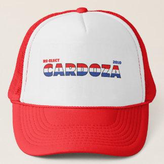 Abstimmung Cardoza 2010 Wahlen rotes weißes und Truckerkappe