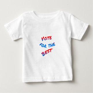 Abstimmung für das Beste, Wahlen Baby T-shirt