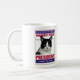 """""""Abstimmung für Harry!"""" lustige Tasse, zum von Kaffeetasse"""