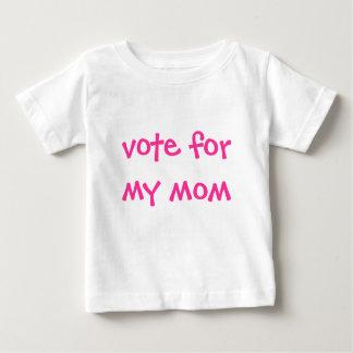 Abstimmung für meine Mamma Baby T-shirt