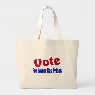 Abstimmung für niedrigere Gaspreise Tragetasche