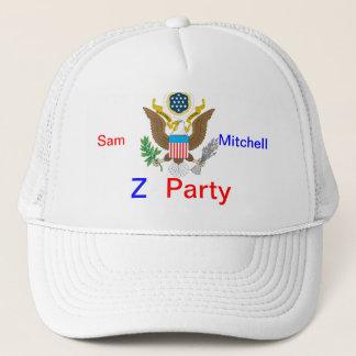 Abstimmung für Sam-Maschen-Hut Truckerkappe