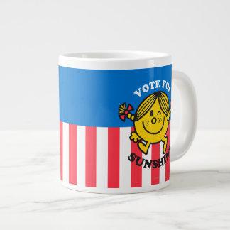 Abstimmung für Sonnenschein Extragroße Tasse