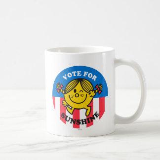 Abstimmung für Sonnenschein Tasse