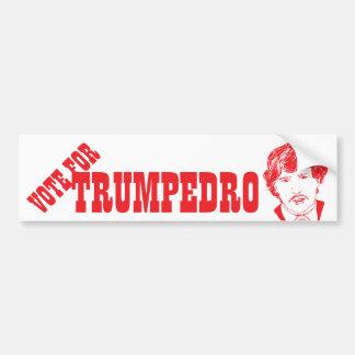 Abstimmung für TRUMPEDRO | lustigen Autoaufkleber