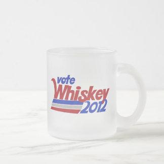 Abstimmung für Whiskywahl-Spaß 2012 Matte Glastasse