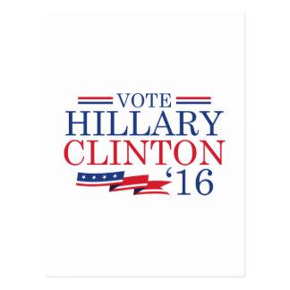 Abstimmung Hillary 2016 Postkarte
