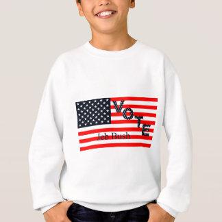 Abstimmung Jeb Bush für Präsidenten 2016 Sweatshirt