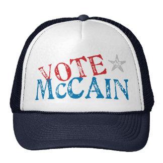 Abstimmung McCain Netzmützen