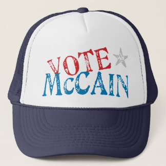 Abstimmung McCain Truckerkappe
