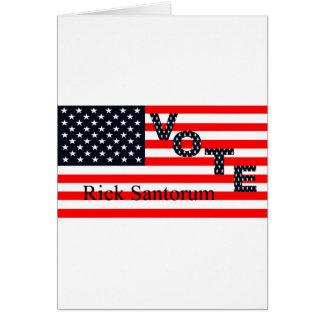 Abstimmung Rick Santorum für Präsidenten 2016 Karte