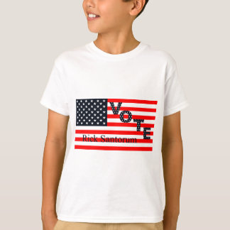 Abstimmung Rick Santorum für Präsidenten 2016 T-Shirt