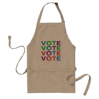 Abstimmung Schürze