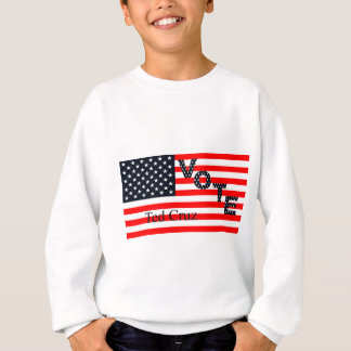 Abstimmung Ted Cruz für Präsidenten 2016 Sweatshirt