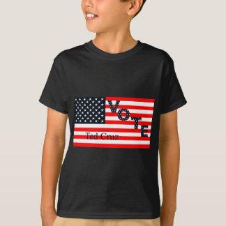 Abstimmung Ted Cruz für Präsidenten 2016 T-Shirt