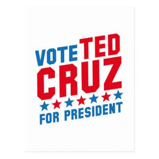 Abstimmung Ted Cruz Postkarte