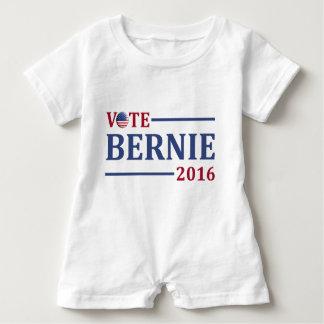 Abstimmungs-Bernie-Sandpapierschleifmaschinen 2016 Baby Strampler