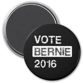 Abstimmungs-Bernie-Sandpapierschleifmaschinen 2016 Runder Magnet 7,6 Cm