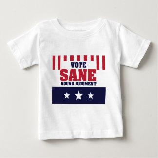Abstimmungs-gesundes gesundes Urteil Baby T-shirt