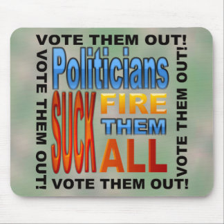 Abstimmungs-Politiker heraus! Mauspads