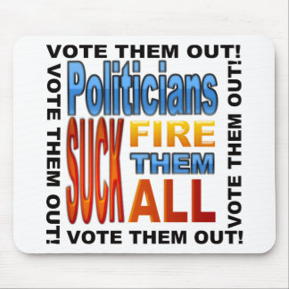 Abstimmungs-Politiker heraus! Mauspad