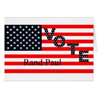 Abstimmungs-Rand Paul für Präsidenten 2016 Karte