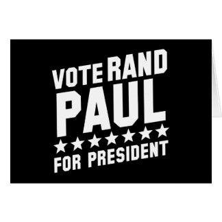 Abstimmungs-Rand Paul Karte