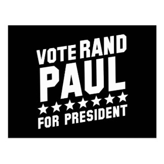 Abstimmungs-Rand Paul Postkarte