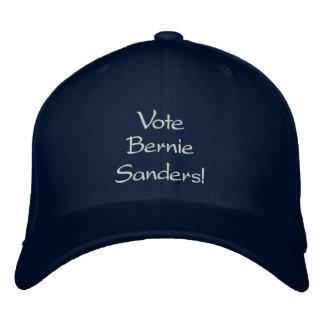 Abstimmungs-Sandpapierschleifmaschine-Gewohnheit Bestickte Baseballkappe