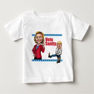 Abstimmungs-Vernunft Baby T-shirt
