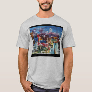 abstract_city_2_med_1.13, unbegrenzt T-Shirt