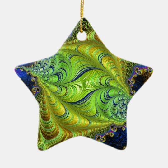 Abstract fractal patterns and shapes. Fractal Art Keramik Ornament