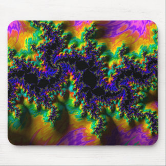 Abstract fractal patterns and shapes. Fractal Art Mousepads
