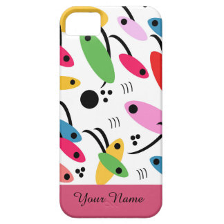 abstract iPhone 5 etui