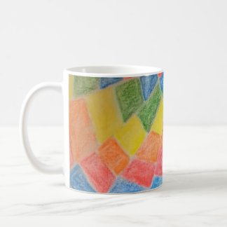 ABSTRACT KUNST KAFFEETASSE
