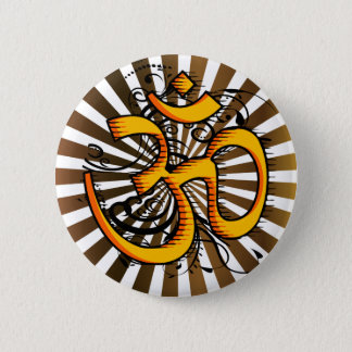 Abstract-om-3 Runder Button 5,1 Cm