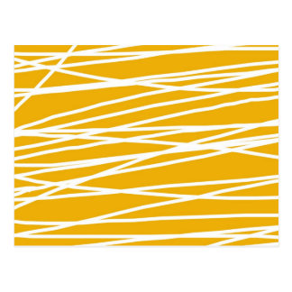 Abstract yellow postkarte