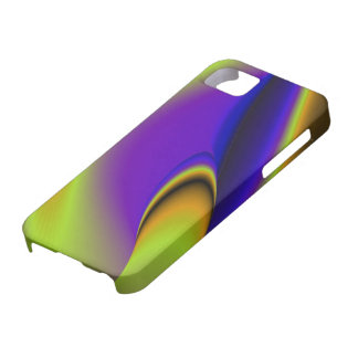 abstractly rainbow iPhone 5 etui