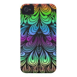 Abstrakt-Falte-Hintergrund-Colorized Case-Mate iPhone 4 Hüllen