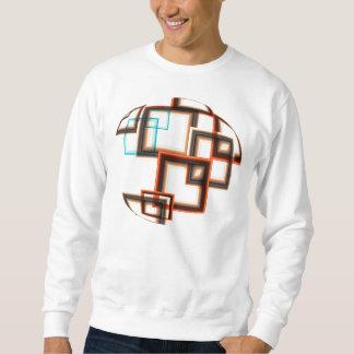 Abstrakt - geometrische Quadrate Sweatshirt