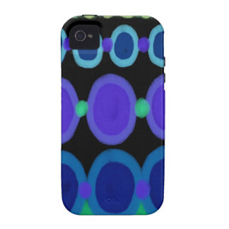 Abstrakt Vibe iPhone 4 Cover