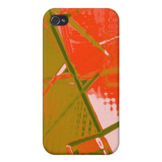 abstrakt etui fürs iPhone 4