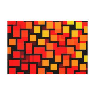 abstrakt leinwanddruck