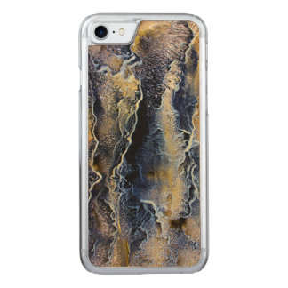 Abstrakt, malend, iPhone 6 dünnes Ahorn-Holz Carved iPhone 7 Hülle