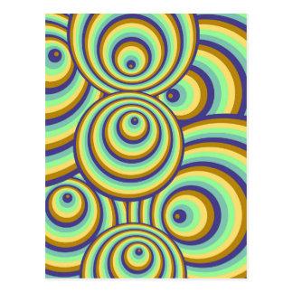 Abstrakt Muster Postkarte